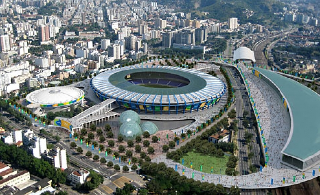 Brazil to spend $2.3 bln for Olympics projects