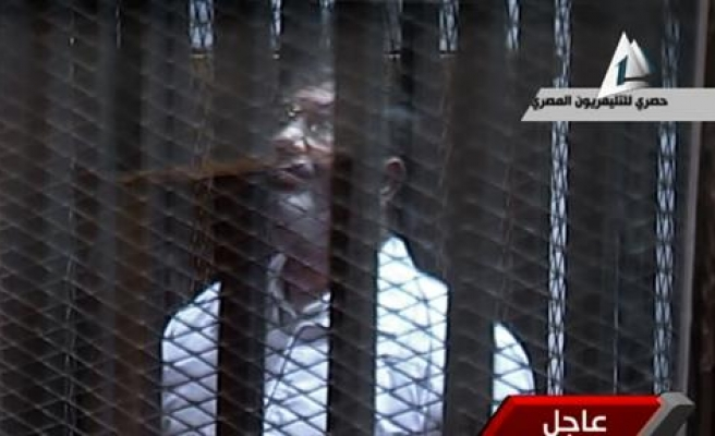 Egypt's Morsi to face trial on fresh spy charges in Feb.