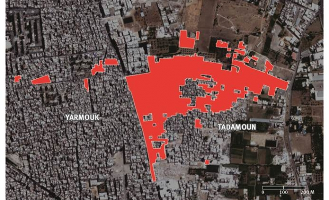 Demolitions in two Syrian cities target civilians - PHOTO