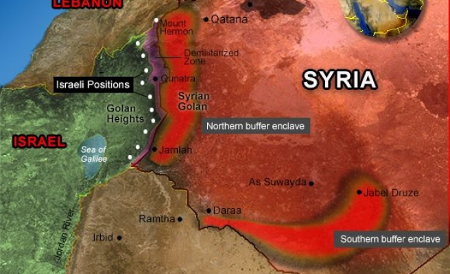 Israel to create 'buffer zones' in Syria