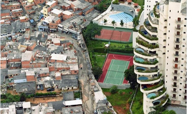 UN report says humanity divided by inequality
