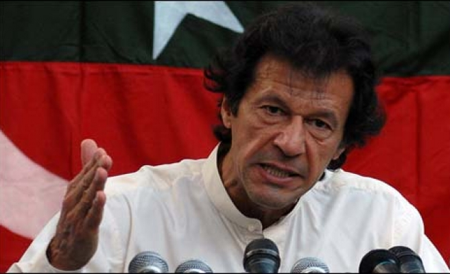 Pakistan's Khan urges joint probe on 'election fraud'