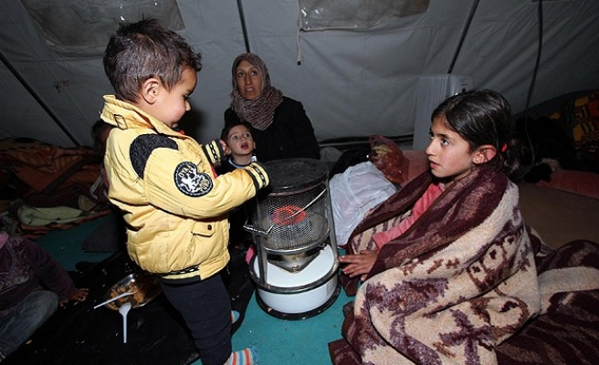 Syria's refugees in Iraqi Kurdistan hit by storm