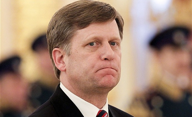 US ambassador to Russia will leave his post