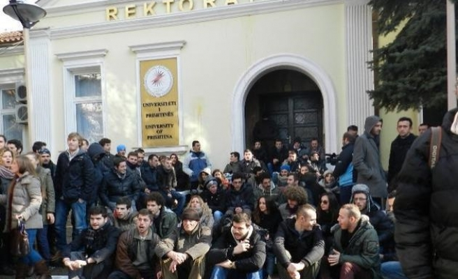 Kosovo's head of university quits after violent protests