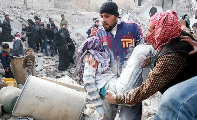 Syria conflict claims 3,379 lives in February