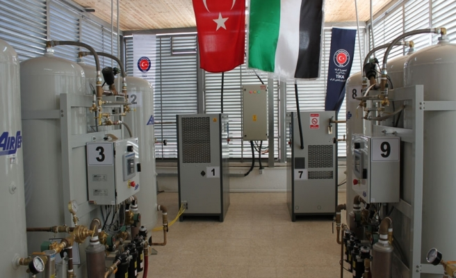 TIKA establishes oxygen production center in West Bank