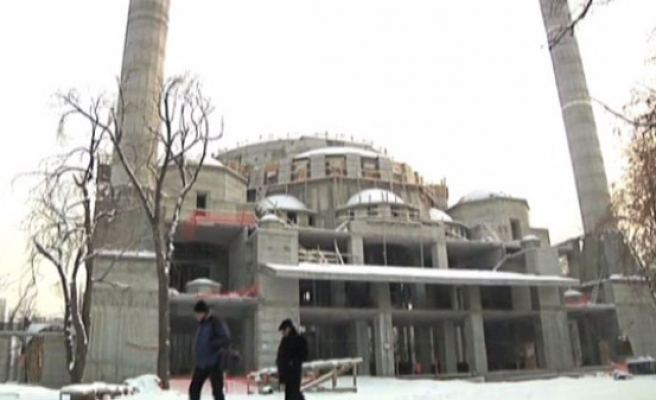 Turkey building biggest mosque in Central Asia