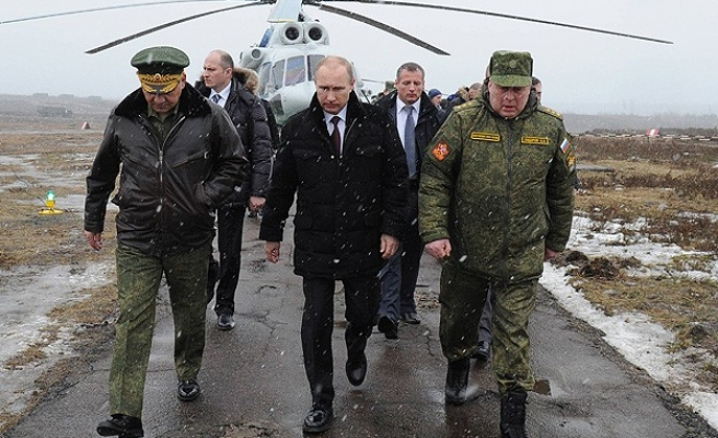 Putin says Crimea takeover shows military prowess
