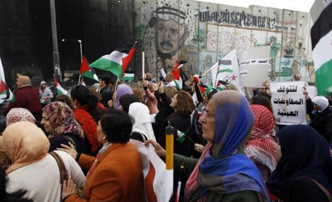 Israel disperses rally of 300 women in West Bank