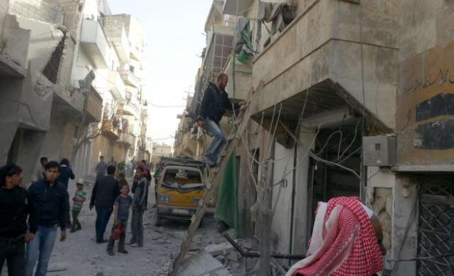 Mortar fire kills at least 13 in government-held Syria