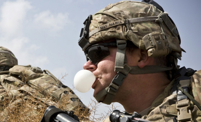 US developing 'combat gum' for soldiers