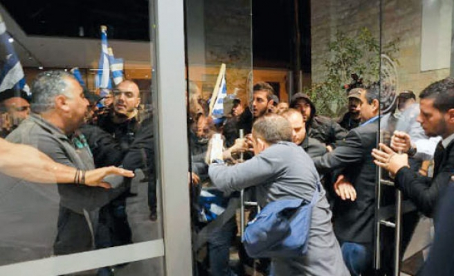 Greek Cyprus fires police chief for ex-TRNC leader attack