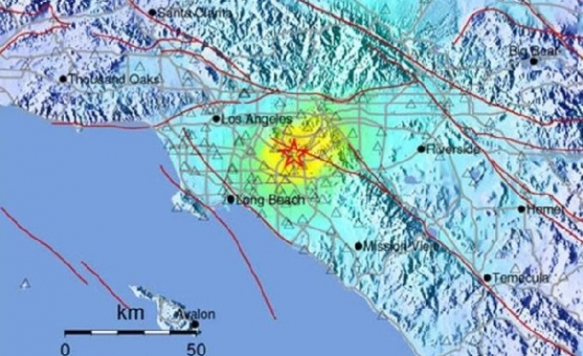 Another earthquake rattles southern California