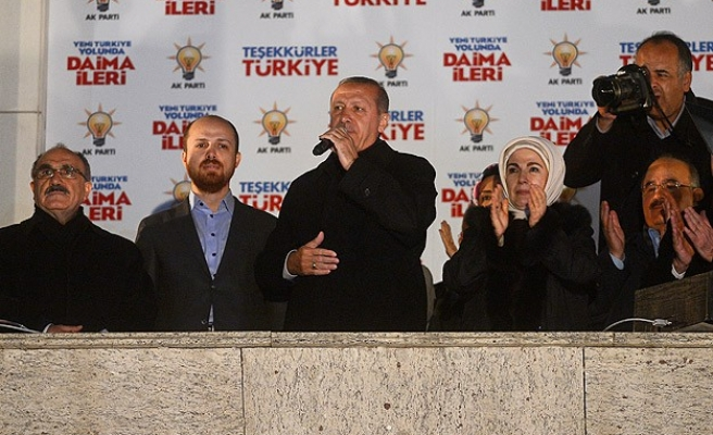 Turkish PM Erdogan gives a speech after election victory- UPDATED