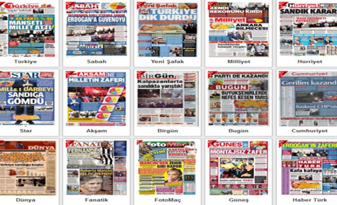 How the Turkish press portrayed local election results