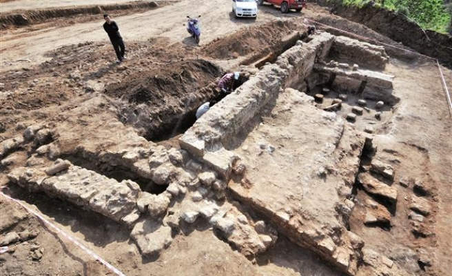 Ancient bath found in Turkey's Mugla
