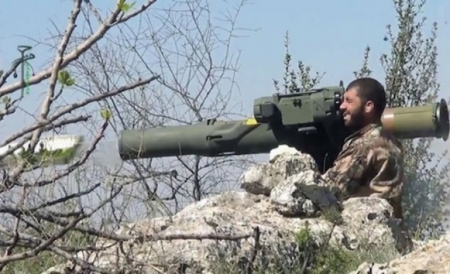 US-made anti-tank weapons in hands of Syrian rebels