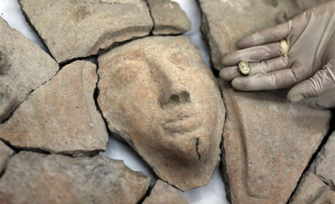 Ancient Egyptian sarcophagus found in Israel
