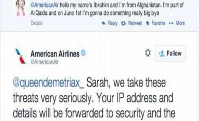 Dutch police question girl, 14, over American Airlines Twitter threat