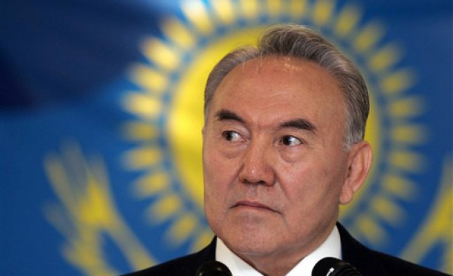 Kazakh veteran leader calls presidential election on April 26