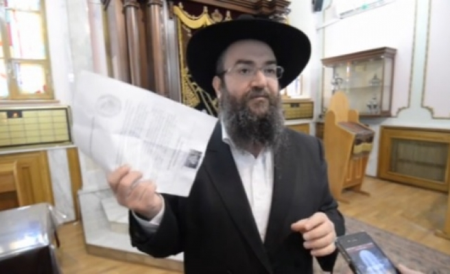 Anti-Semitic flyer sparks outrage in Ukraine's east