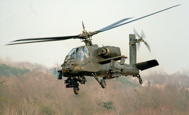 U.S. to deliver 10 Apache helicopters to Egypt -Pentagon