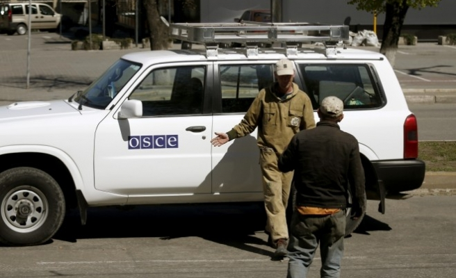 OSCE says has lost contact with monitors near Donetsk