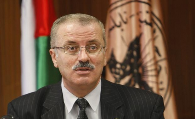 The new Palestinian gov't unveiled