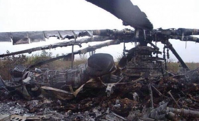 Ukraine separatists down army helicopter, 14 killed -UPDATED