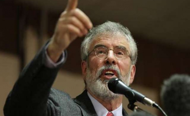 Irish party leader, Gerry Adams' visit to Gaza blocked by Israel
