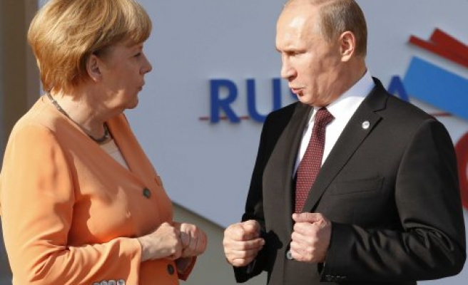 Merkel hits diplomatic dead-end with Putin