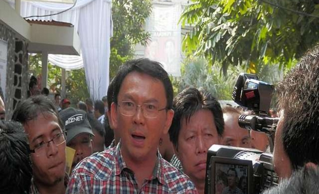 Jakarta's first Christian governor sworn in