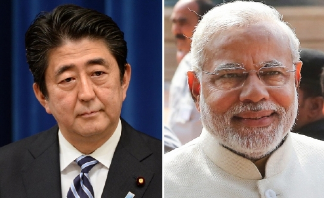 Twitter friendship blossoms for Asian nationalists Modi and Abe