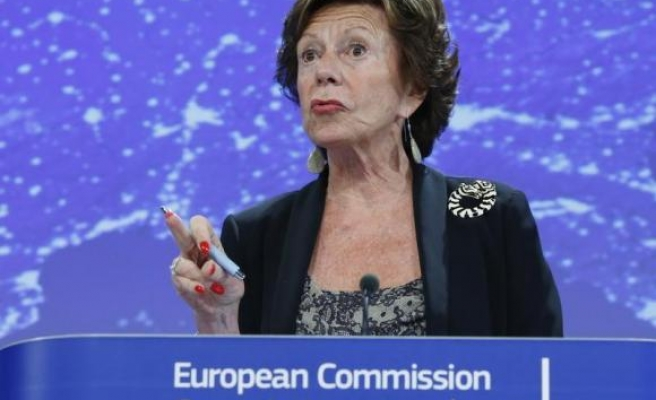 EU urges U.S. to move faster to end Internet monopoly