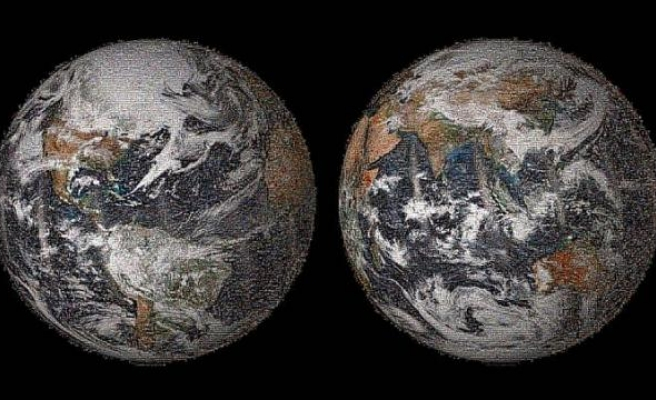 NASA unveils Earth Day 'global selfie' mosaic
