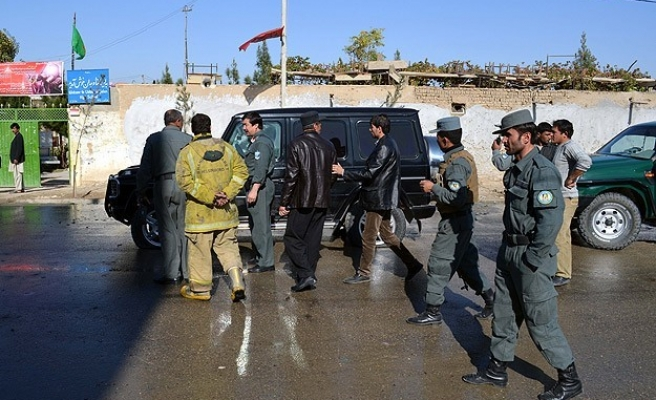 Afghan election workers among 11 killed by roadside bomb