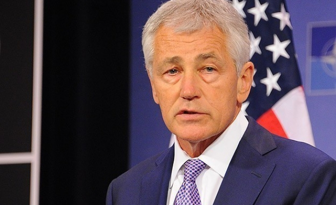 Hagel denies he resigned over differences with Obama