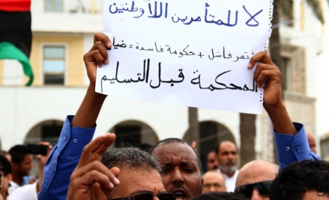 Haftar supporters, opponents protest in Libya's Tripoli