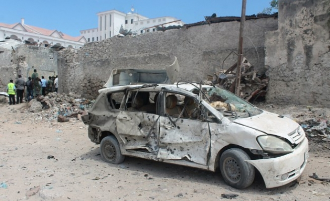 Two huge blasts hit Somali parliament compound