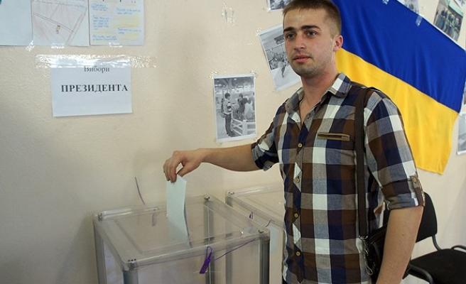 Ukranian leaders call for high turnout in Sunday's election