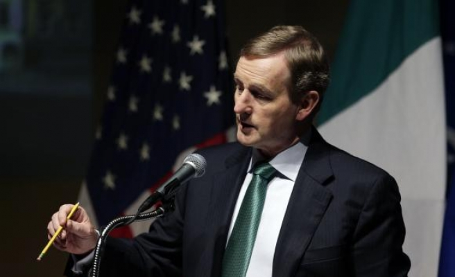 Irish PM's party slumps to second place in local polls