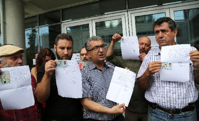 Turkish Cypriots turned away from EP polling stations