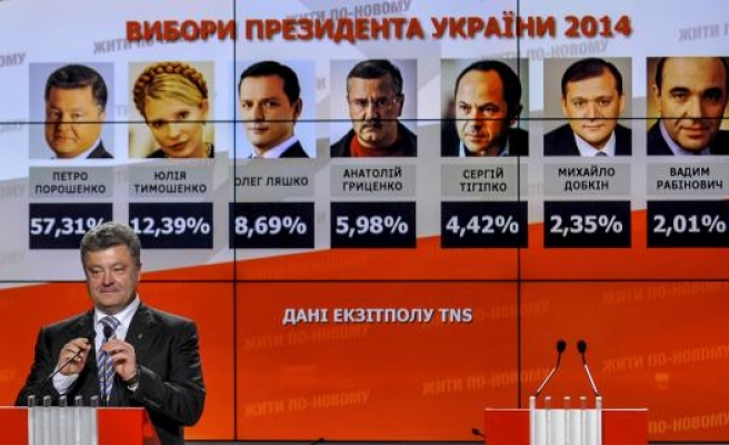 Anxious Ukrainians hope Poroshenko can keep them from abyss