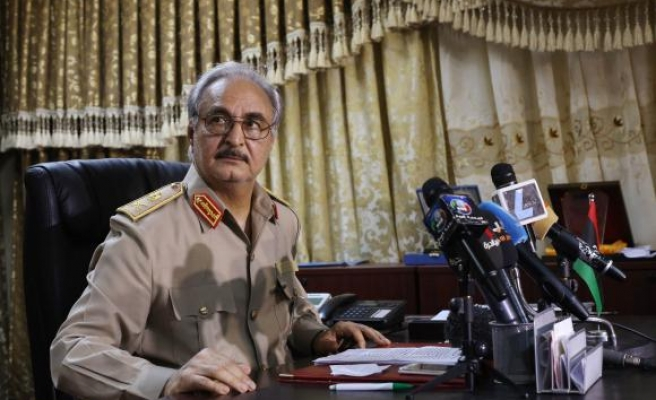 Libya's Haftar sworn in as army chief