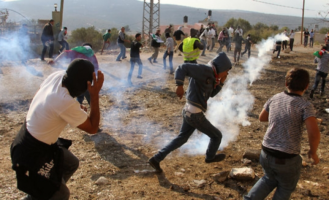 Israel disperses rally for Palestinian prisoners in W. Bank