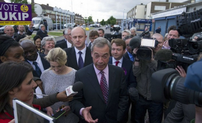 UK's anti-EU voters to stick with UKIP party in national election