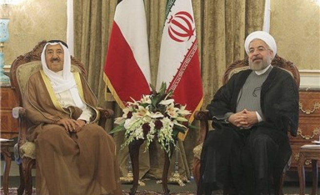 Iran's Rouhani and Kuwaiti Emir met in Tehran