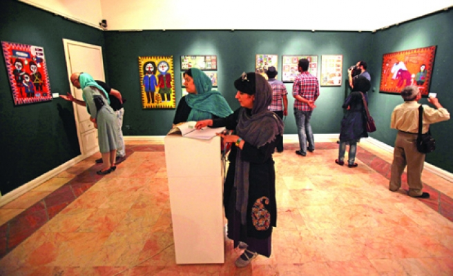 Iran's domestic art scene thrives despite economic sanctions