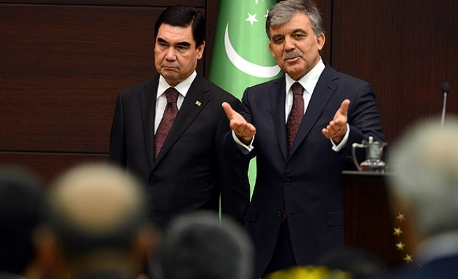 Turkey 'ready' to be gas link for Turkmenistan and Europe
